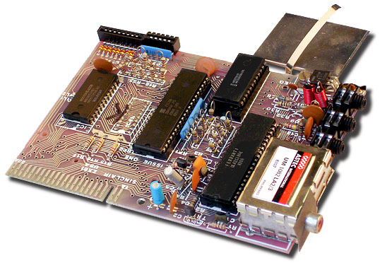 Sinclair ZX81 mainboard